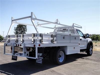 2020 Ford F-550 Regular Cab DRW 4x2, Scelzi CTFB Contractor Body #FL2935 - photo 4