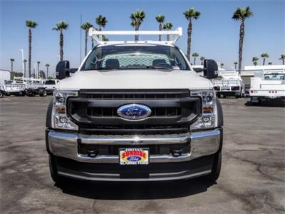 2020 Ford F-550 Regular Cab DRW 4x2, Scelzi CTFB Contractor Body #FL2935 - photo 7