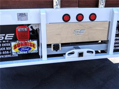 2020 Ford F-550 Regular Cab DRW 4x2, Scelzi WFB Stake Bed #FL2938 - photo 10