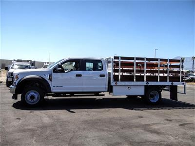 2020 Ford F-450 Crew Cab DRW 4x2, Scelzi WFB Stake Bed #FL2939 - photo 3