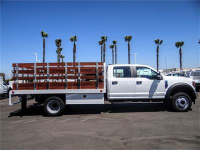 2020 Ford F-450 Crew Cab DRW 4x2, Scelzi WFB Stake Bed #FL2939 - photo 5