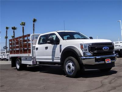 2020 Ford F-450 Crew Cab DRW 4x2, Scelzi WFB Stake Bed #FL2939 - photo 6