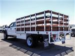2020 Ford F-450 Crew Cab DRW 4x2, Scelzi WFB Stake Bed #FL2939 - photo 2