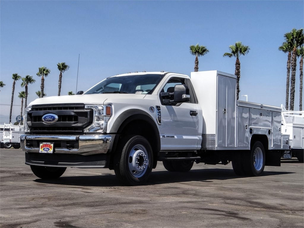 2020 Ford F-550 Regular Cab DRW 4x2, Scelzi Service Body #FL2993 - photo 1