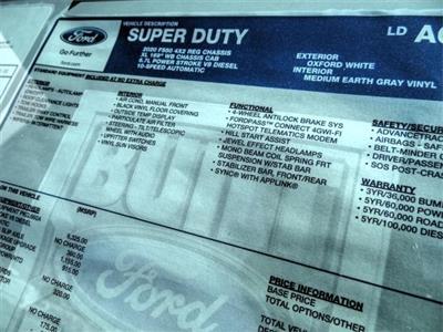 2020 Ford F-550 Regular Cab DRW 4x2, Scelzi Signature Service Body #FL2993 - photo 12