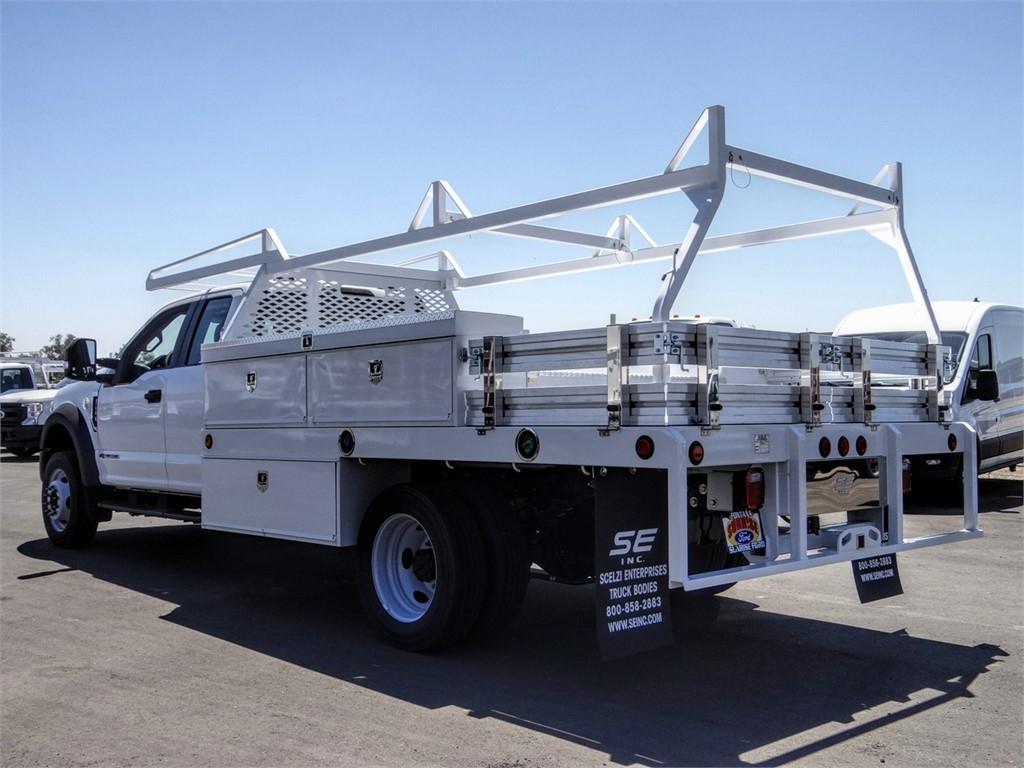 2020 Ford F-450 Super Cab DRW 4x2, Scelzi CTFB Contractor Body #FL2994 - photo 2