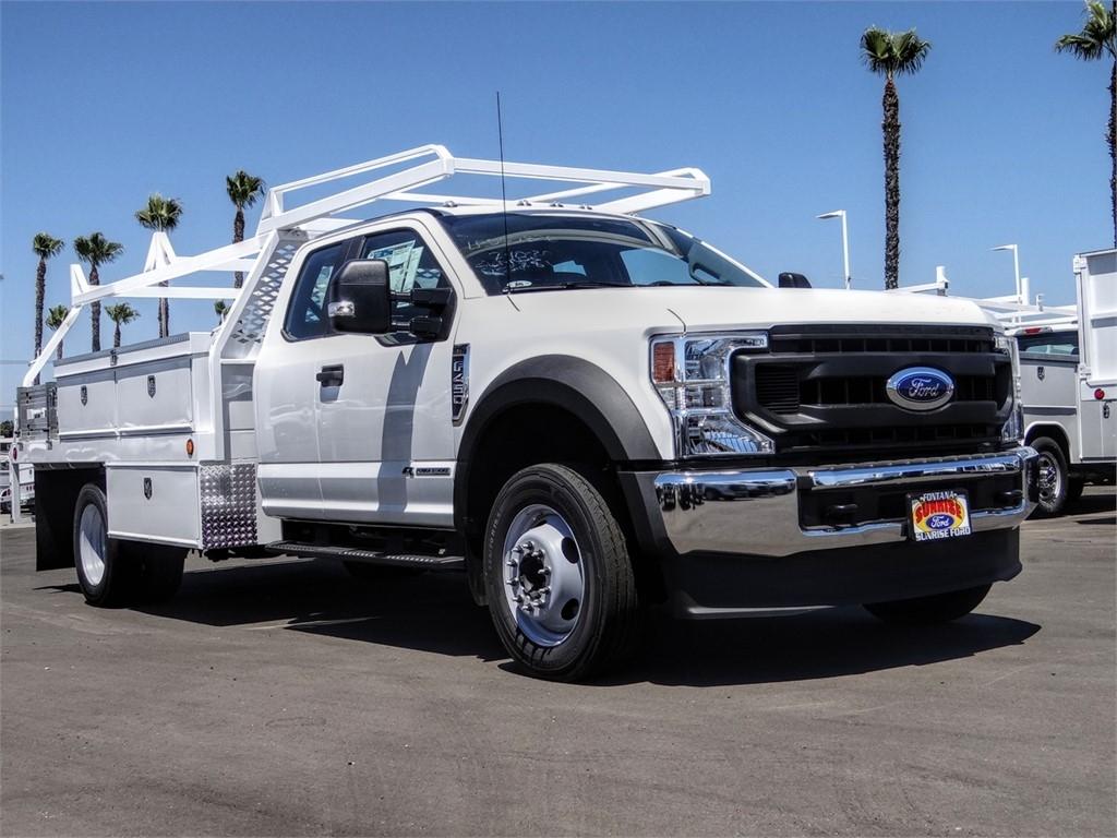 2020 Ford F-450 Super Cab DRW 4x2, Scelzi CTFB Contractor Body #FL2994 - photo 6