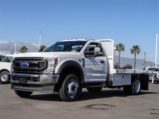 2020 Ford F-550 Regular Cab DRW 4x2, Scelzi WFB Flatbed #FL3054 - photo 1
