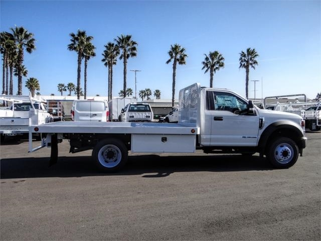 2020 Ford F-550 Regular Cab DRW 4x2, Scelzi WFB Flatbed #FL3054 - photo 5