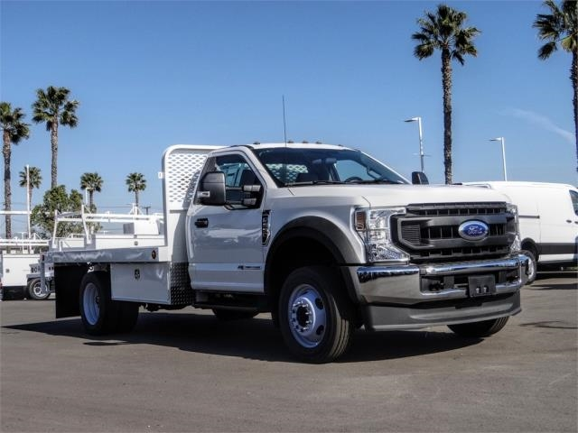 2020 Ford F-550 Regular Cab DRW 4x2, Scelzi WFB Flatbed #FL3054 - photo 6