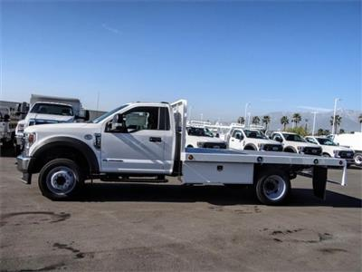 2020 Ford F-550 Regular Cab DRW 4x2, Scelzi WFB Flatbed #FL3054 - photo 3