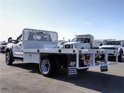 2020 Ford F-550 Regular Cab DRW 4x2, Scelzi WFB Flatbed #FL3054 - photo 2
