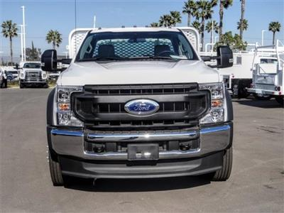 2020 Ford F-550 Regular Cab DRW 4x2, Scelzi WFB Flatbed #FL3054 - photo 7