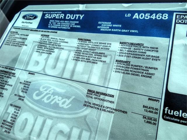 2020 Ford F-550 Regular Cab DRW 4x2, Scelzi Signature Service Body #FL3055 - photo 13
