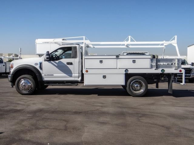 2020 Ford F-450 Regular Cab DRW 4x2, Scelzi CTFB Contractor Body #FL3067 - photo 3
