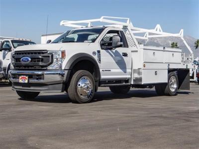 2020 Ford F-450 Regular Cab DRW 4x2, Scelzi CTFB Contractor Body #FL3067 - photo 1