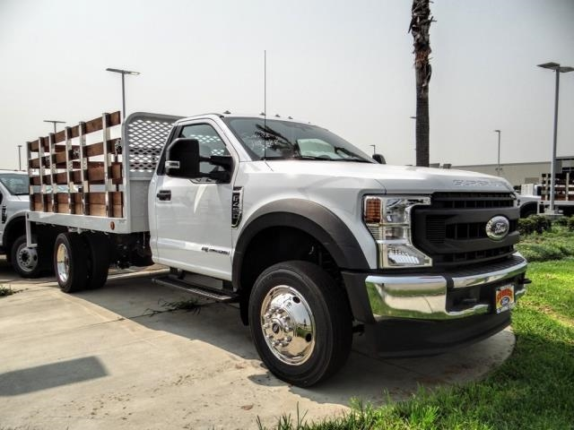 2020 Ford F-450 Regular Cab DRW 4x2, Scelzi WFB Stake Bed #FL3068 - photo 7