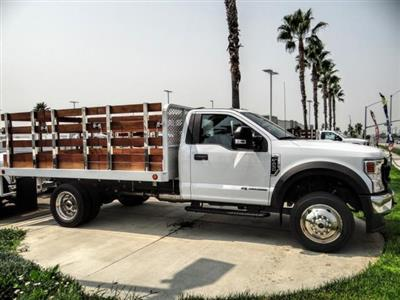 2020 Ford F-450 Regular Cab DRW 4x2, Scelzi WFB Stake Bed #FL3068 - photo 6