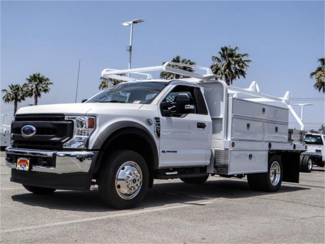 2020 Ford F-450 Regular Cab DRW 4x2, Scelzi Contractor Body #FL3095 - photo 1