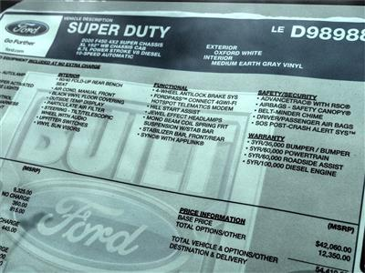 2020 Ford F-450 Super Cab DRW 4x2, Cab Chassis #FL3195 - photo 11