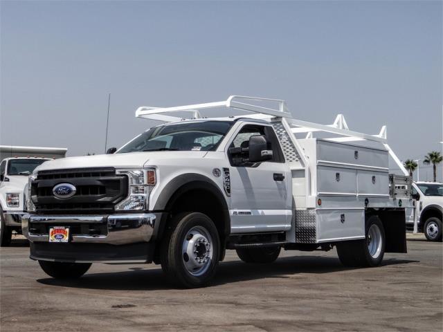 2020 Ford F-450 Regular Cab DRW 4x2, Scelzi SCTFB Contractor Body #FL3270 - photo 1
