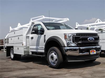 2020 Ford F-450 Regular Cab DRW 4x2, Scelzi SCTFB Contractor Body #FL3270 - photo 9