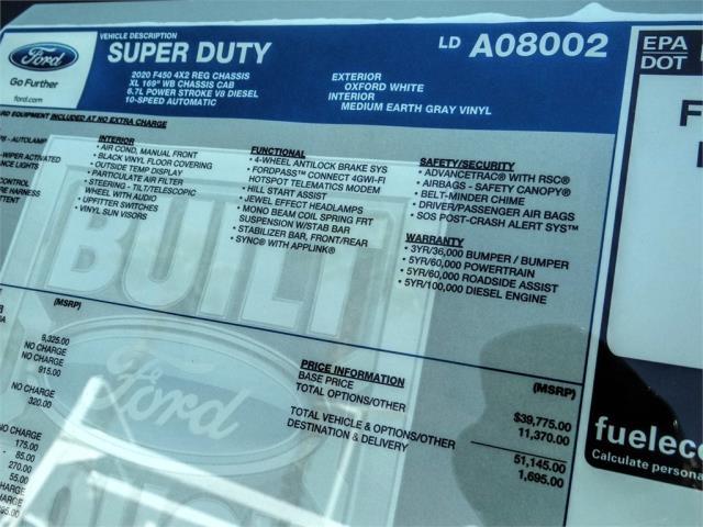 2020 Ford F-450 Regular Cab DRW 4x2, Scelzi WFB Flatbed #FL3313 - photo 11