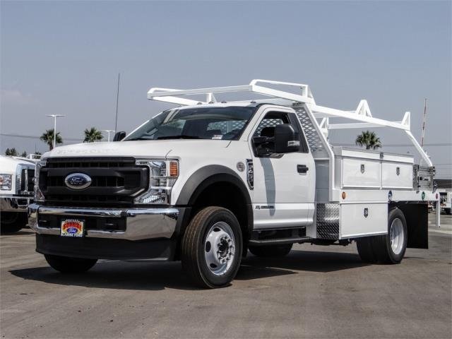 2020 Ford F-450 Regular Cab DRW 4x2, Scelzi CTFB Contractor Body #FL3339 - photo 1