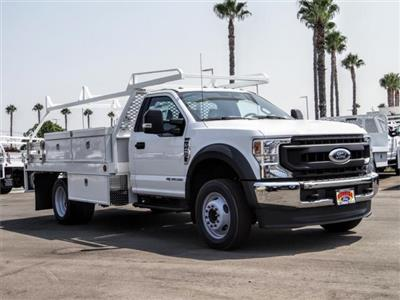 2020 Ford F-450 Regular Cab DRW 4x2, Scelzi CTFB Contractor Body #FL3339 - photo 6