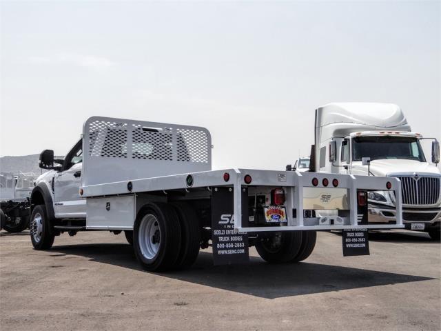 2020 Ford F-450 Regular Cab DRW 4x2, Scelzi WFB Flatbed #FL3340 - photo 2