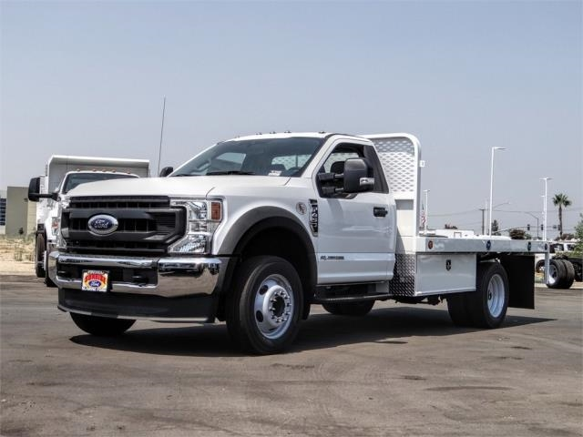 2020 Ford F-450 Regular Cab DRW 4x2, Scelzi WFB Flatbed #FL3349 - photo 1
