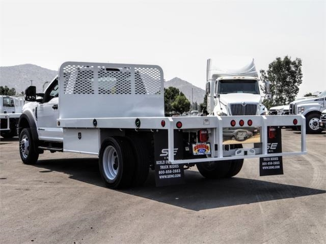 2020 Ford F-450 Regular Cab DRW 4x2, Scelzi WFB Flatbed #FL3349 - photo 2