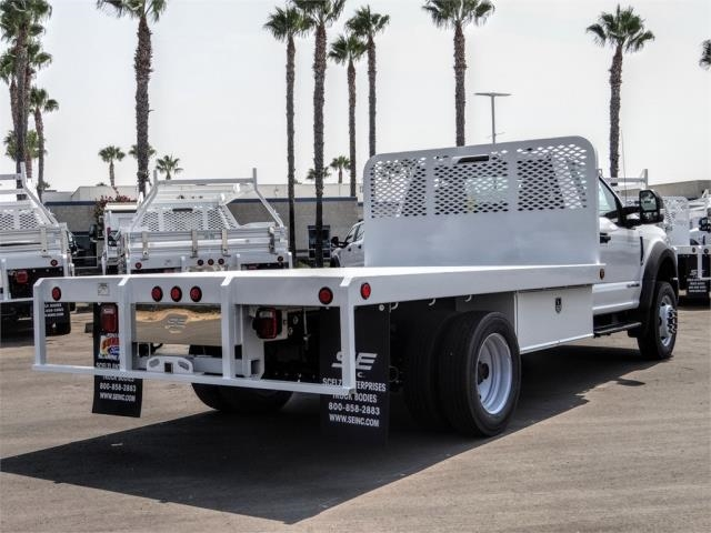 2020 Ford F-450 Regular Cab DRW 4x2, Scelzi WFB Flatbed #FL3349 - photo 4