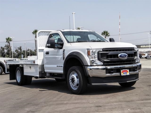 2020 Ford F-450 Regular Cab DRW 4x2, Scelzi WFB Flatbed #FL3349 - photo 6
