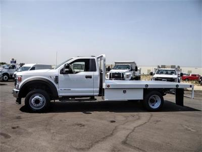 2020 Ford F-450 Regular Cab DRW 4x2, Scelzi WFB Flatbed #FL3349 - photo 3