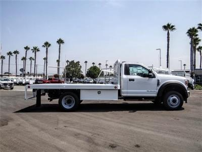 2020 Ford F-450 Regular Cab DRW 4x2, Scelzi WFB Flatbed #FL3349 - photo 5