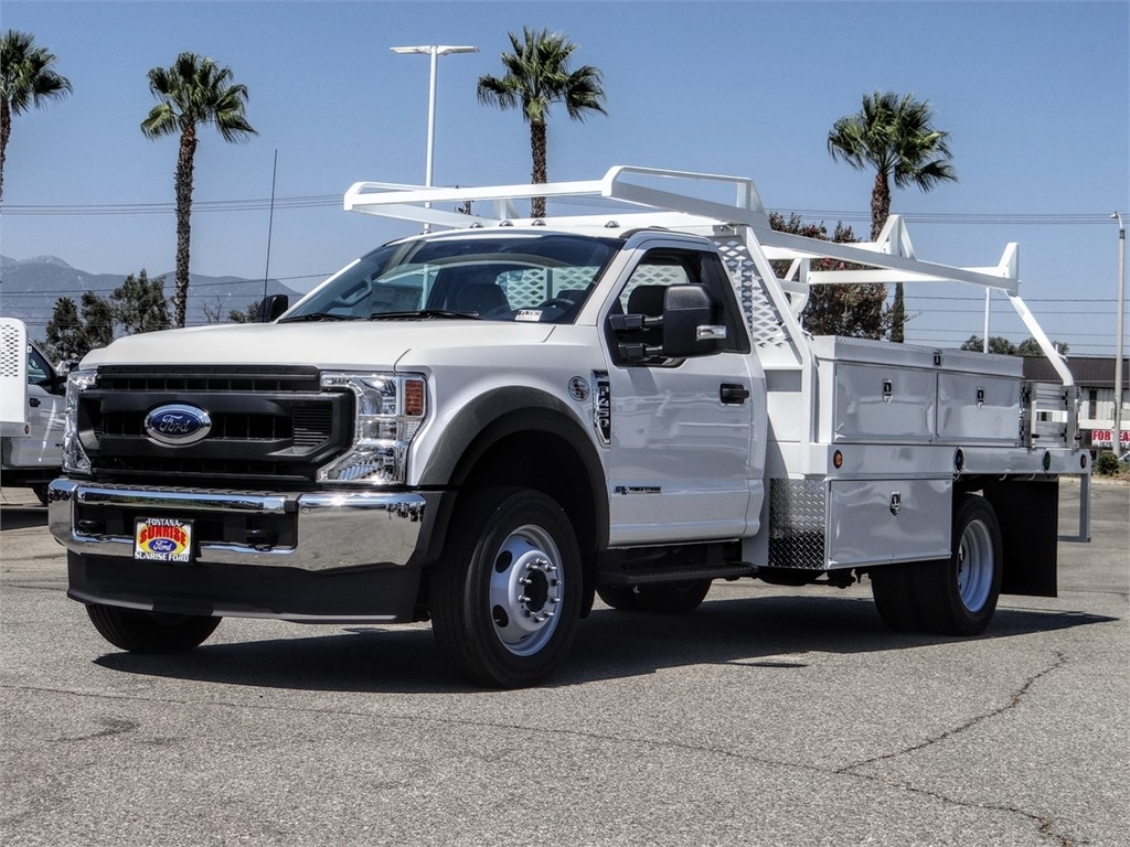 2020 Ford F-450 Regular Cab DRW 4x2, Scelzi CTFB Contractor Body #FL3363 - photo 1