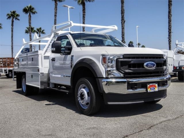 2020 Ford F-450 Regular Cab DRW 4x2, Scelzi CTFB Contractor Body #FL3363 - photo 6