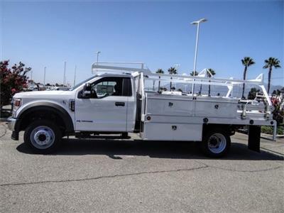 2020 Ford F-450 Regular Cab DRW 4x2, Scelzi CTFB Contractor Body #FL3363 - photo 3
