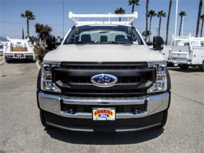 2020 Ford F-450 Regular Cab DRW 4x2, Scelzi CTFB Contractor Body #FL3363 - photo 7