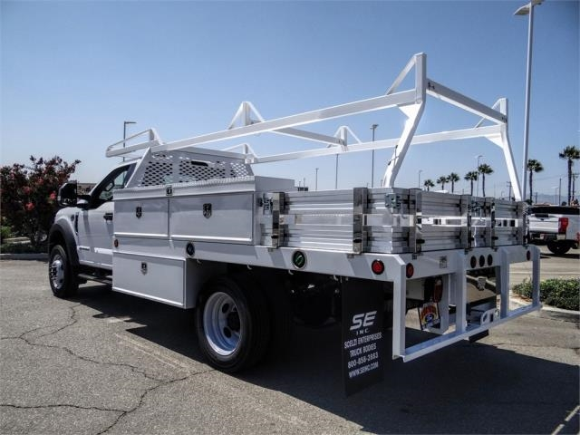 2020 Ford F-450 Regular Cab DRW 4x2, Scelzi CTFB Contractor Body #FL3385 - photo 2