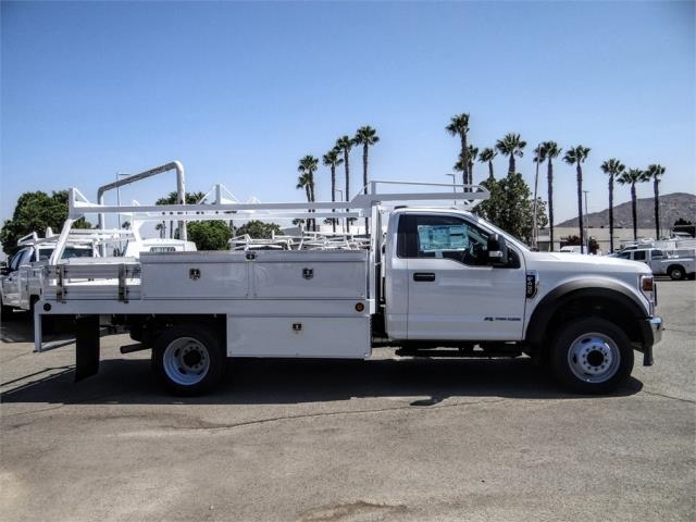2020 Ford F-450 Regular Cab DRW 4x2, Scelzi CTFB Contractor Body #FL3385 - photo 5