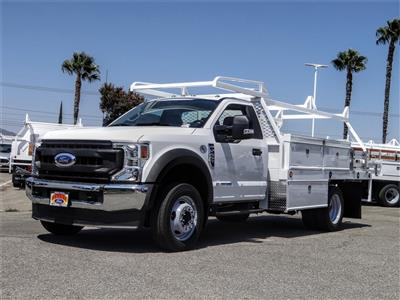 2020 Ford F-450 Regular Cab DRW 4x2, Scelzi CTFB Contractor Body #FL3385 - photo 1