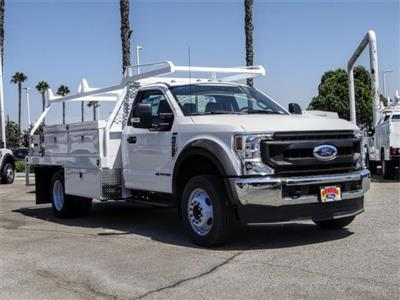 2020 Ford F-450 Regular Cab DRW 4x2, Scelzi CTFB Contractor Body #FL3385 - photo 6