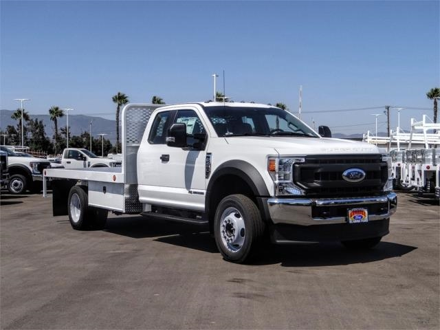 2020 Ford F-450 Super Cab DRW 4x2, Scelzi WFB Flatbed #FL3414 - photo 6