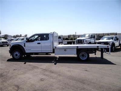 2020 Ford F-450 Super Cab DRW 4x2, Scelzi WFB Flatbed #FL3414 - photo 3