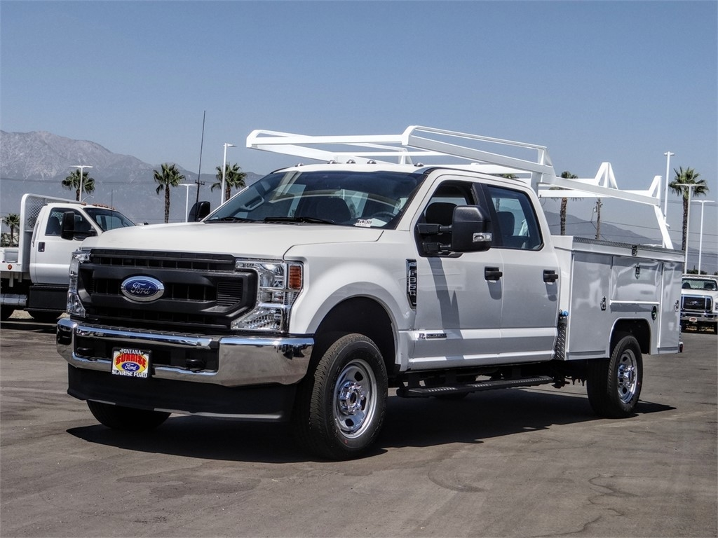 2020 Ford F-350 Crew Cab 4x4, Scelzi Service Body #FL3416 - photo 1