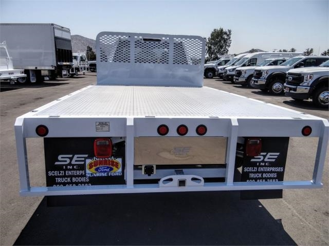 2020 Ford F-450 Super Cab DRW 4x2, Scelzi WFB Flatbed #FL3441 - photo 10
