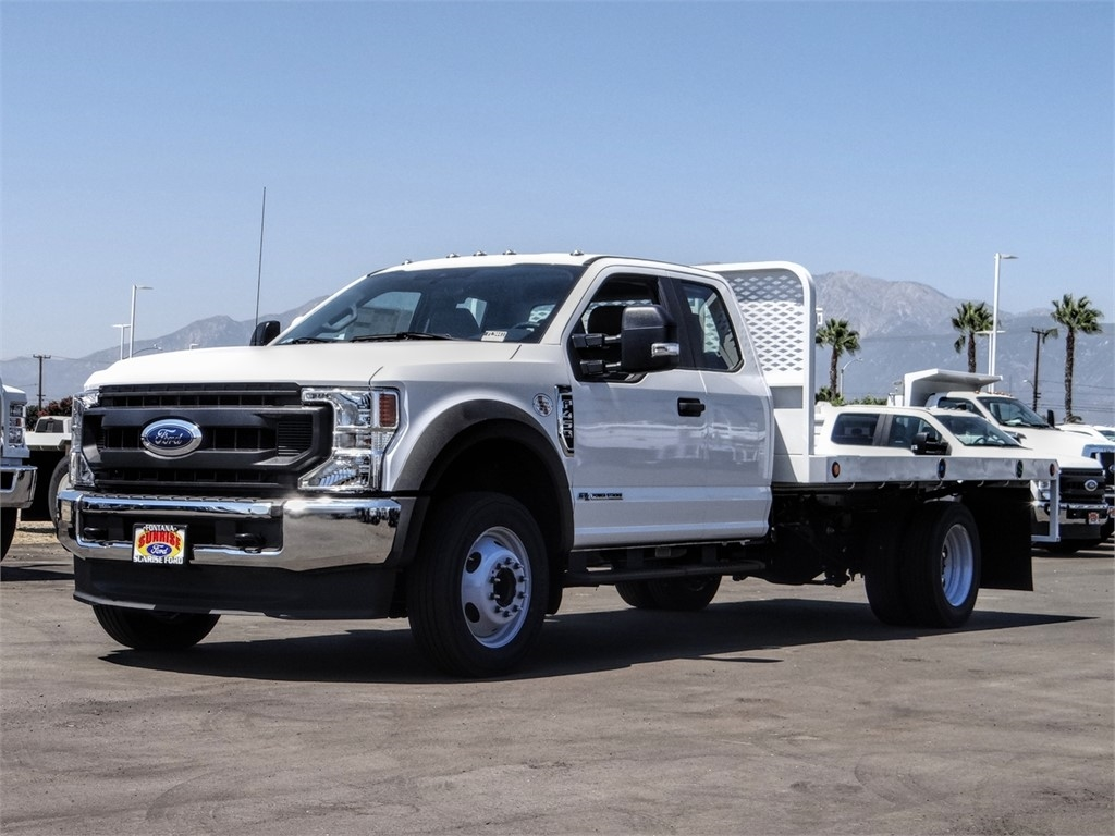 2020 Ford F-450 Super Cab DRW 4x2, Scelzi WFB Flatbed #FL3441 - photo 1