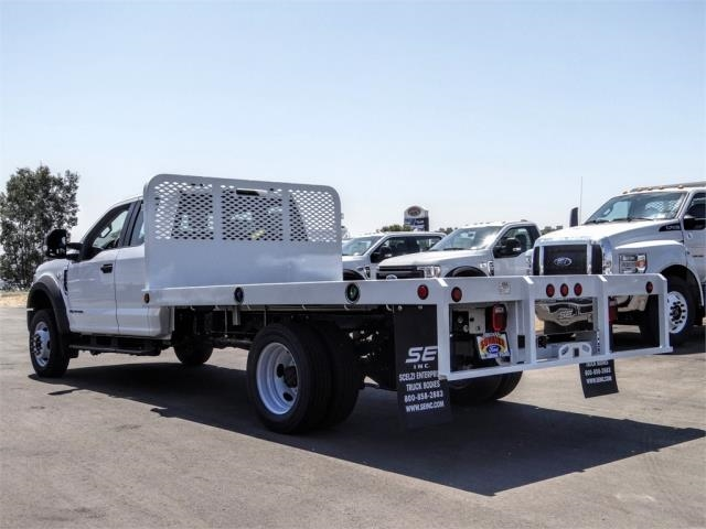 2020 Ford F-450 Super Cab DRW 4x2, Scelzi WFB Flatbed #FL3441 - photo 2